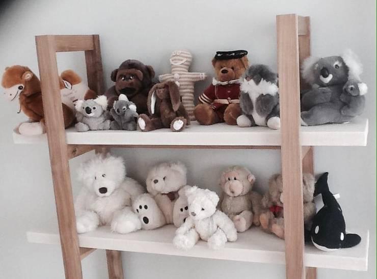 Habitación de niños: Dormitorios infantiles de estilo  por Carolina biercamp