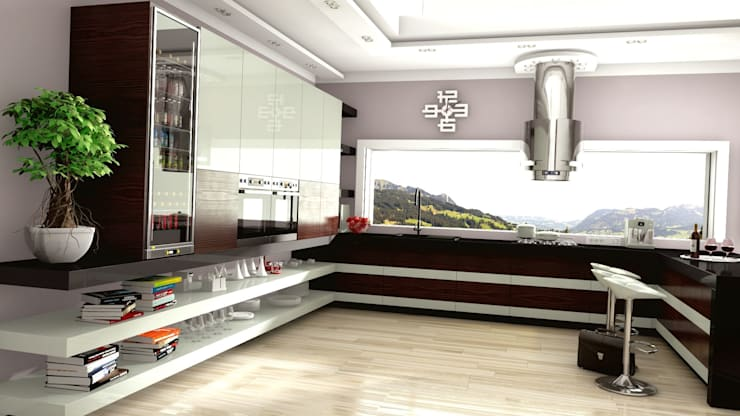 Kuchnia w stylu nowoczesnym – Australia, Sydney: styl , w kategorii Kuchnia zaprojektowany przez Archonica
