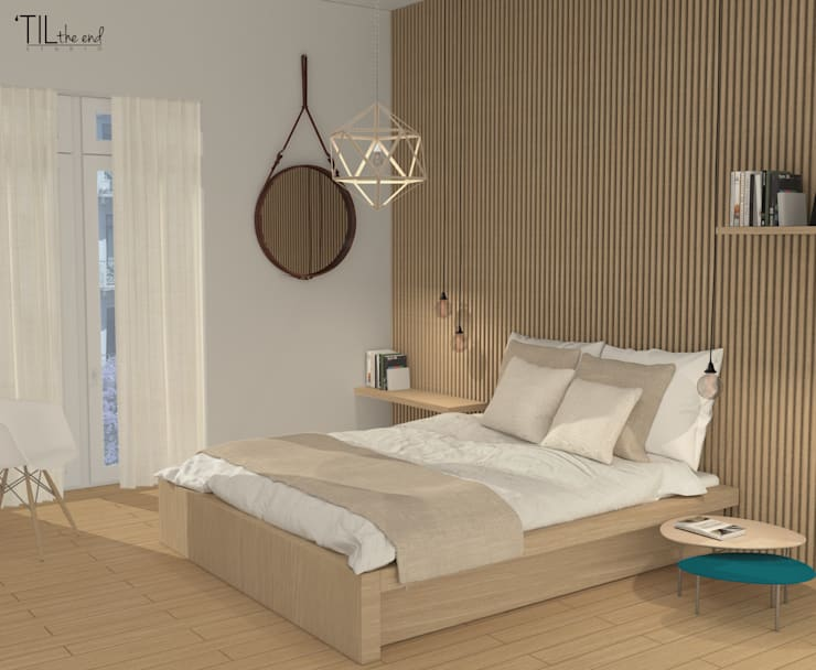 scandinavian Bedroom by Lagom studio