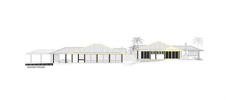RESIDÊNCIA JM: Casas rústicas por MADUEÑO ARQUITETURA & ENGENHARIA
