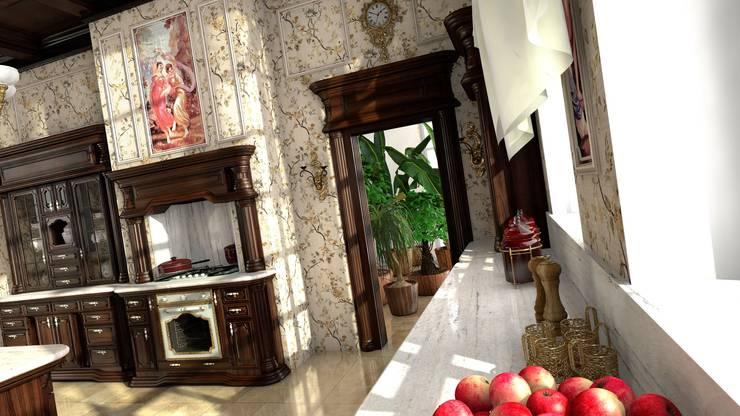 Kuchnia w stylu klasycznym: styl , w kategorii Kuchnia zaprojektowany przez Archonica,Klasyczny