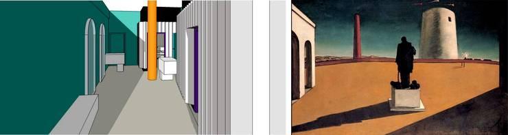 Inspiracja do projektu: styl , w kategorii Kliniki zaprojektowany przez KOLORAMA