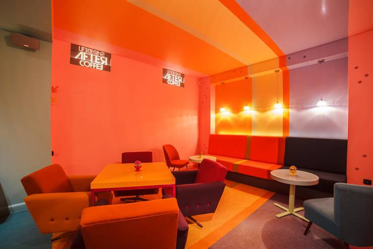 Fotografia sali na poziomie -1: styl , w kategorii Gastronomia zaprojektowany przez KOLORAMA,Nowoczesny