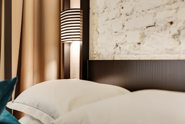 DHR HOTEL: Hotel in stile  di FAUSTO DI ROCCO ARCHITETTO