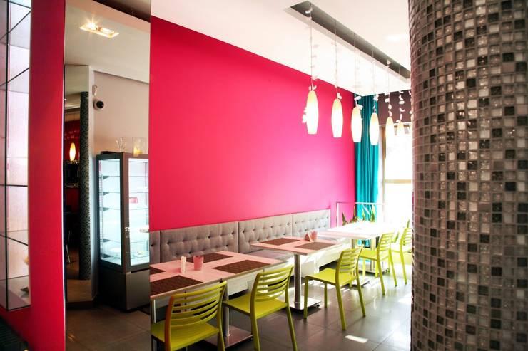 Fotografia - główna sala restauracyjna: styl , w kategorii Gastronomia zaprojektowany przez KOLORAMA,Nowoczesny