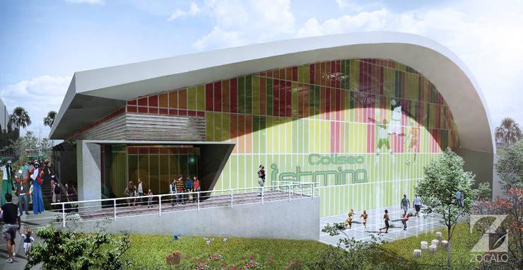 COLISEO ISTMINA CHOCO: Casas de estilo  por zocalo.arquitectura.2014