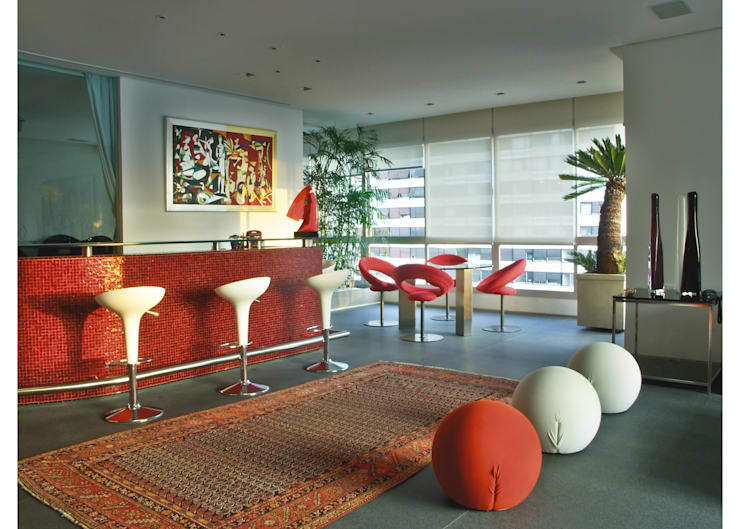 Apto Al. Campinas: Salas de estar  por Elisabete Primati Arquitetura