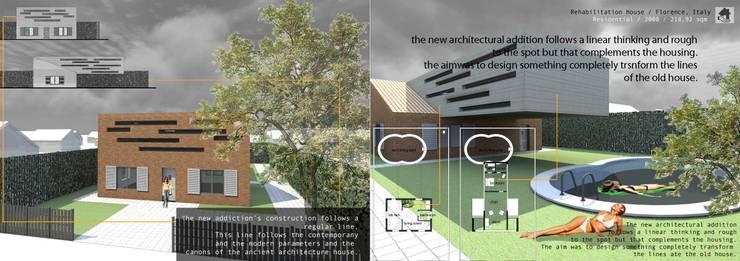Reabilitação de todo o edifício:   por Sara Santos Arquitecta