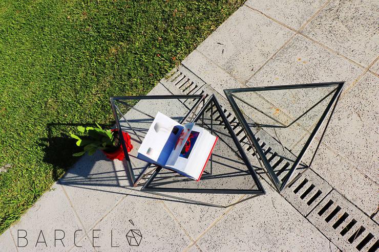 Mesa Ratona GRACIA: Jardines de estilo  por Barcelò. diseño en hierro