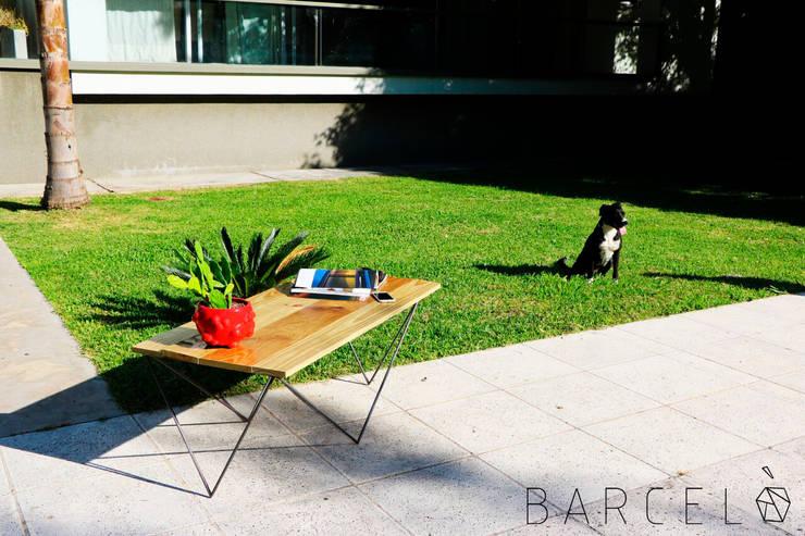 Mesa Ratona BARCELONETA: Spa de estilo  por Barcelò. diseño en hierro,