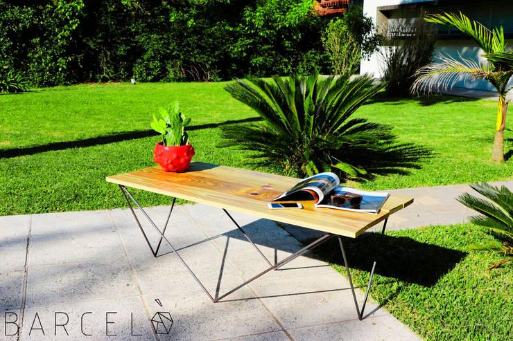 Mesa Ratona BARCELONETA: Jardines de estilo  por Barcelò. diseño en hierro,