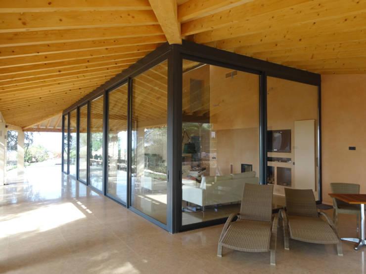 Casa Paddenberg: Casas de estilo  de miguelfloritarquitectura sl