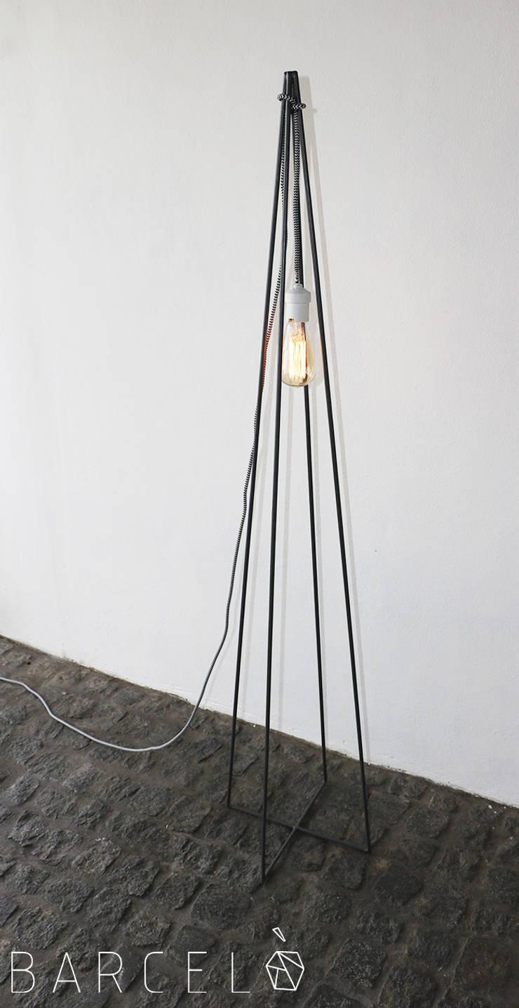 Salon de style  par Barcelò. diseño en hierro
