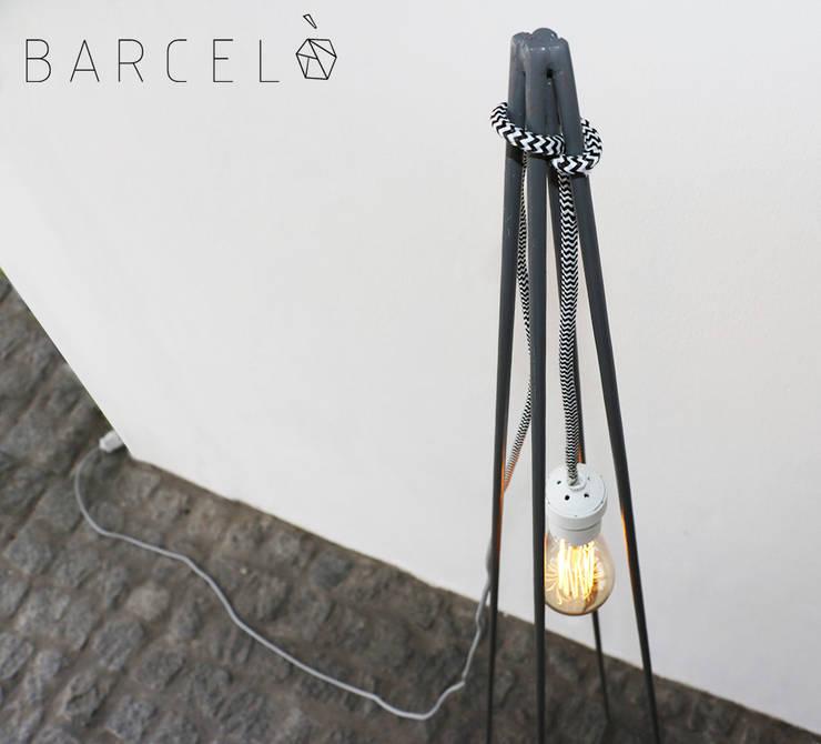 Bureau de style  par Barcelò. diseño en hierro