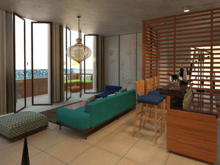 Divyashree: modern Living room by Sanctuary