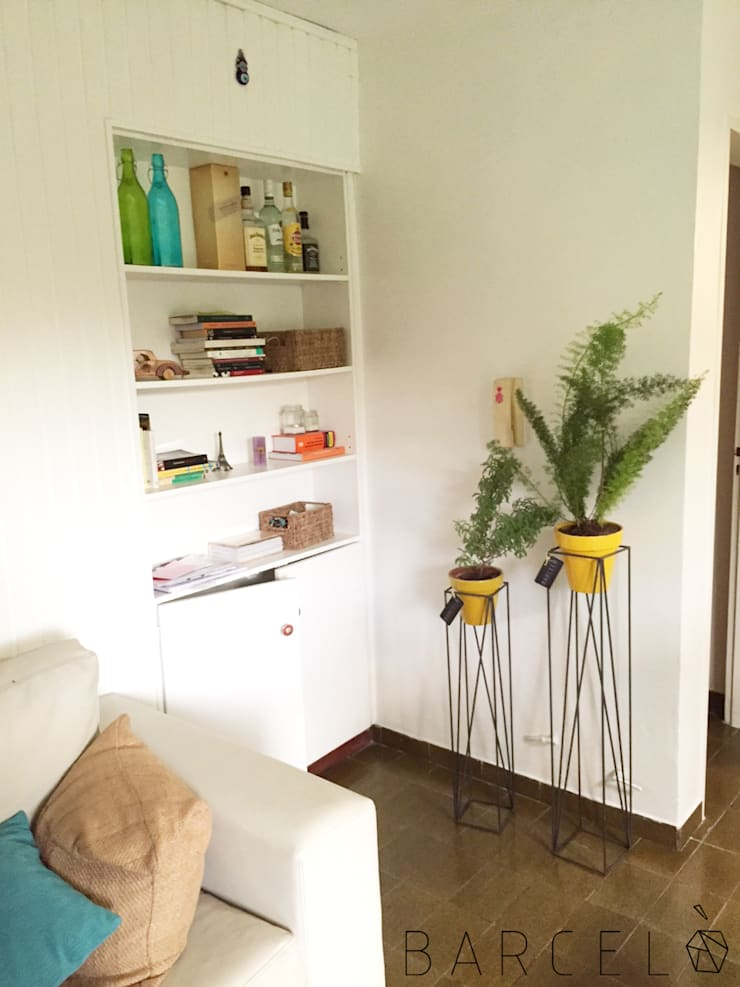 Office spaces & stores  by Barcelò. diseño en hierro