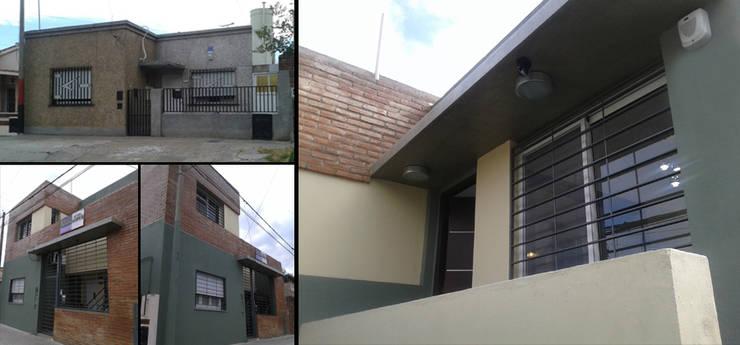 Casas de estilo  por ELVARQUITECTOS