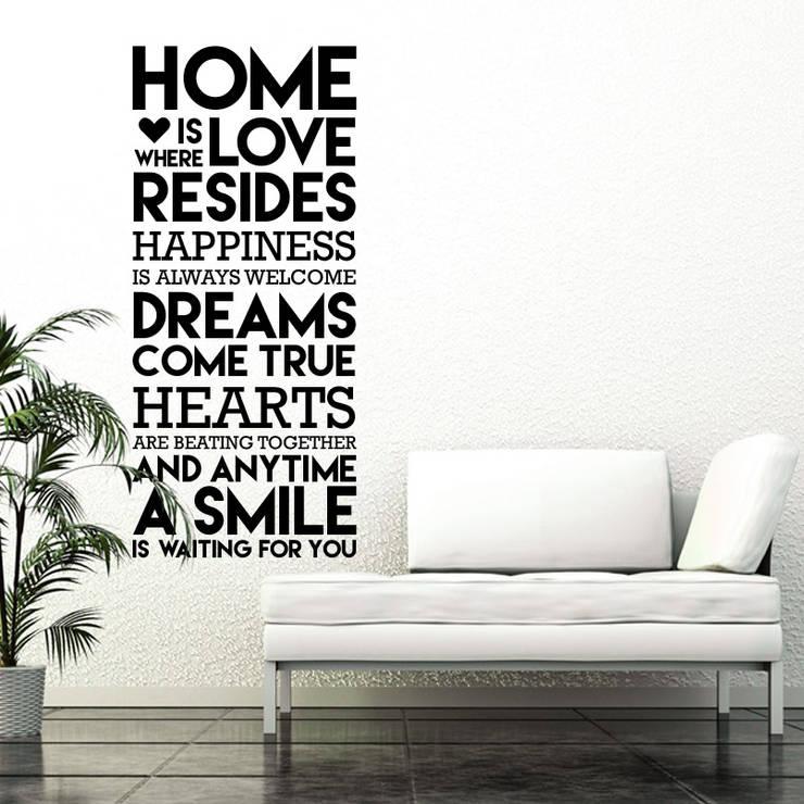 :: FRASE 12 ::: Livings de estilo  por MUSH HOME