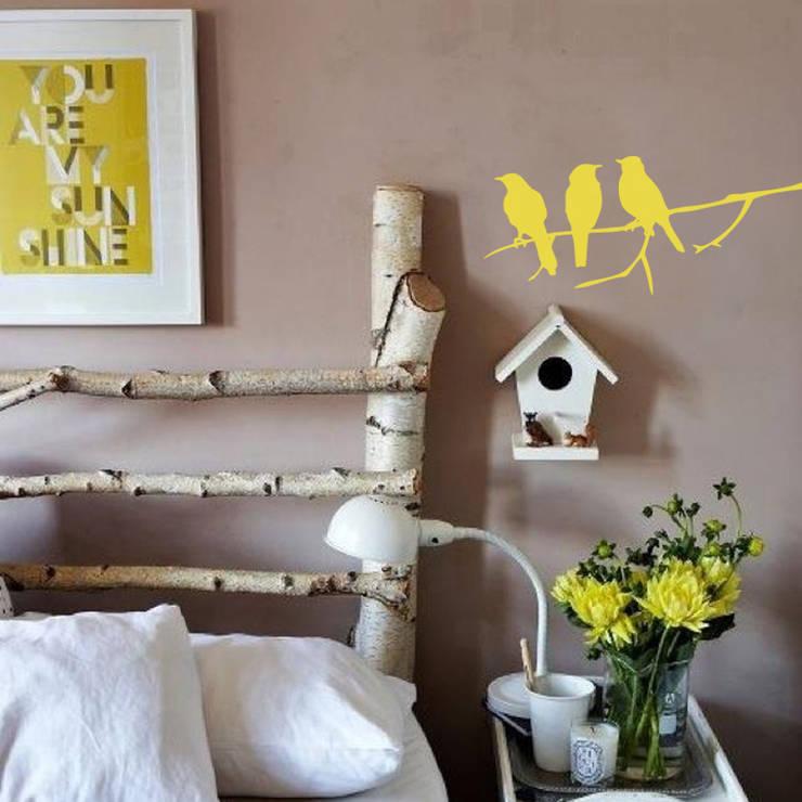 :: NATURE 01::: Dormitorios de estilo  por MUSH HOME