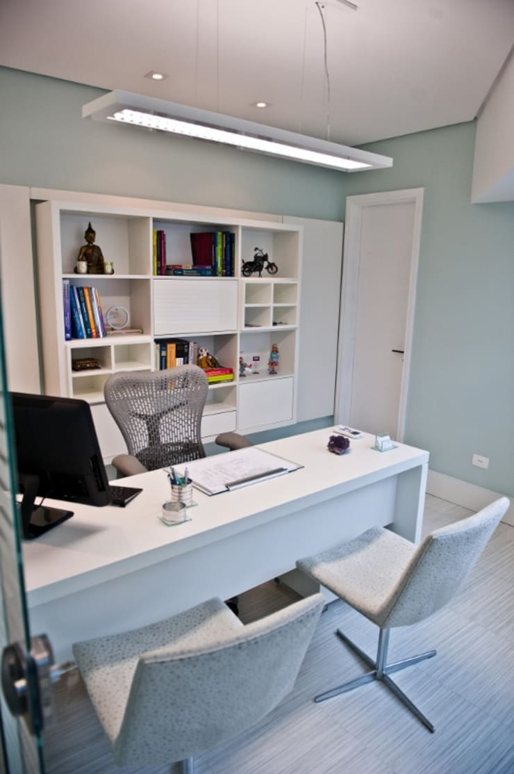 Projeto MF Interiores para consultório odontopediátrico: Clínicas  por MF Interiores