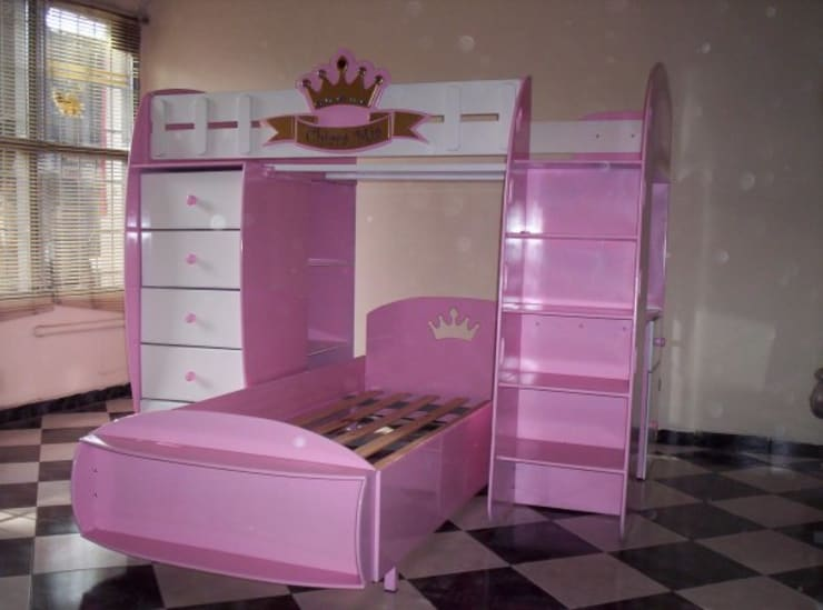 coches-cama: Dormitorios infantiles de estilo  por estudio1956