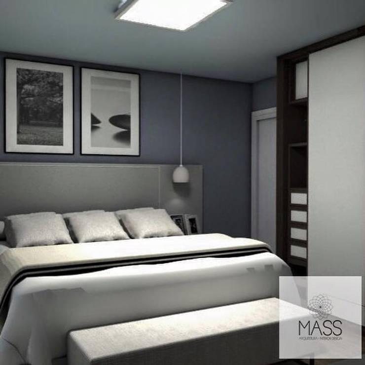 Dormitorio: Dormitorios de estilo  por ESTUDIO MASS,