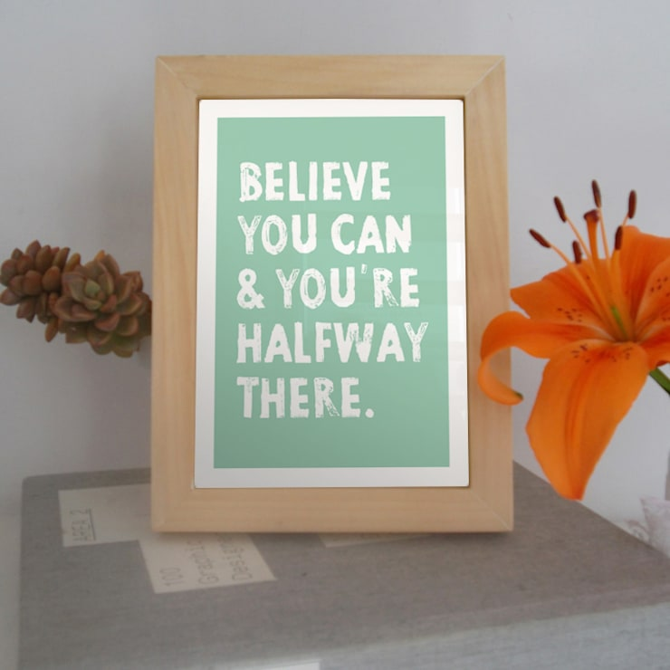 :: BELIEVE YOU CAN :::  de estilo  por MUSH HOME,Clásico Madera Acabado en madera