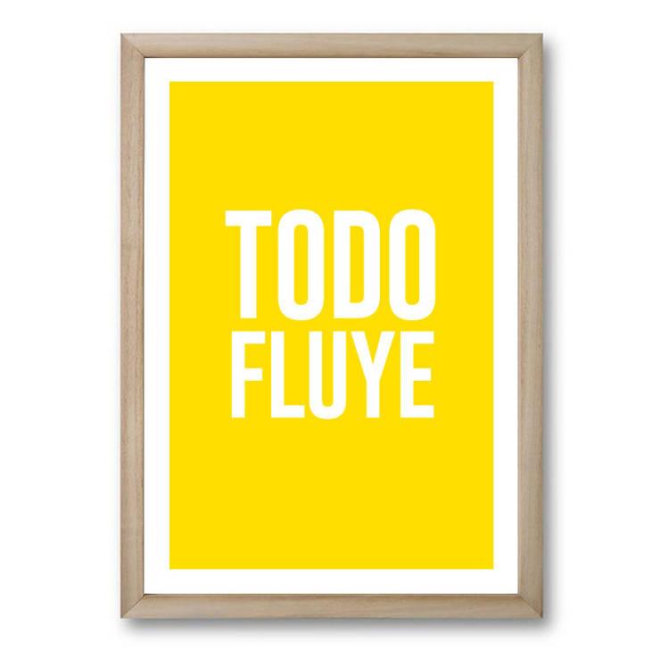 :: TODO FLUYE :::  de estilo  por MUSH HOME,Clásico Madera Acabado en madera