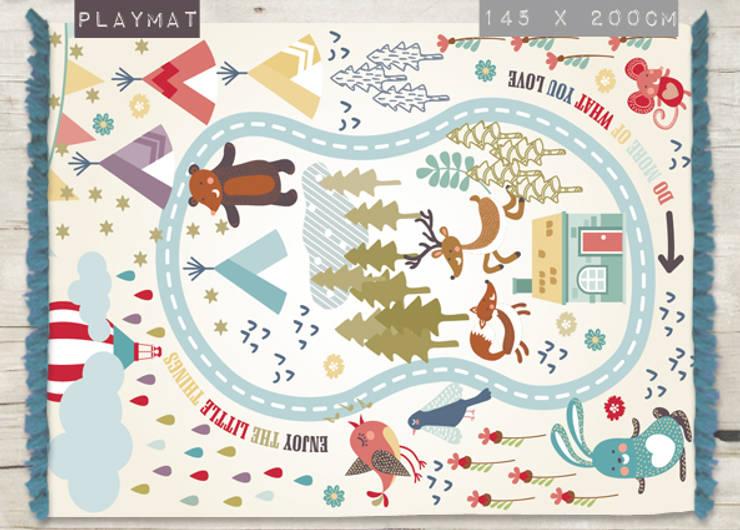 Alfombra Playmat de Luc*At diseños Escandinavo