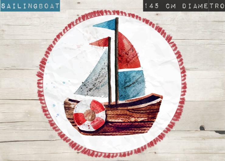 Alfombra Sailingboat de Luc*At diseños Minimalista