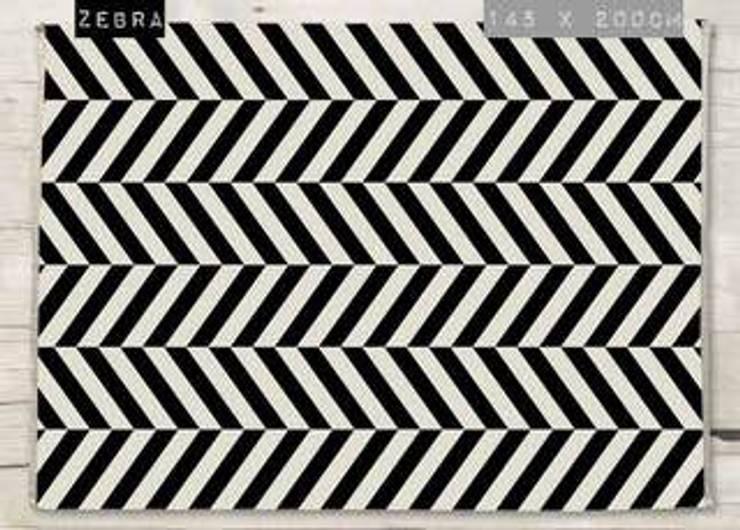 Alfombra Zebra de Luc*At diseños Minimalista