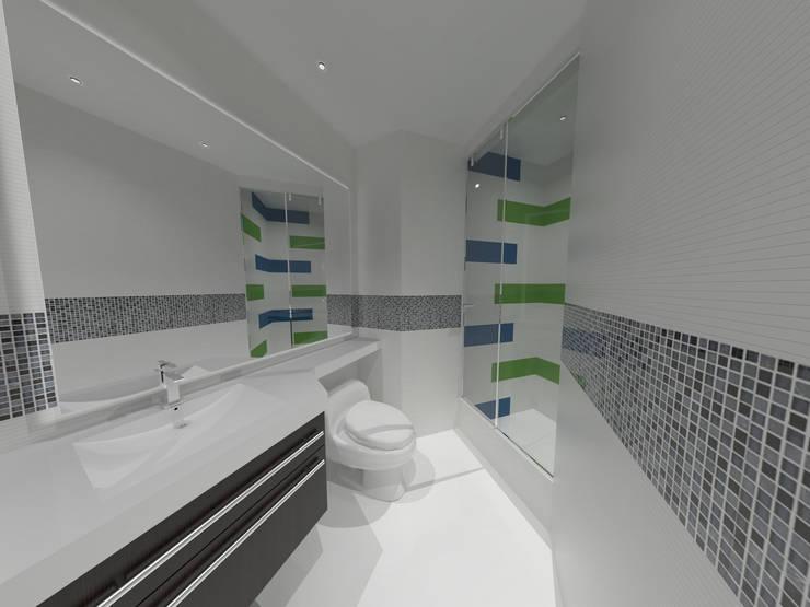 Baños de estilo  por Vowen