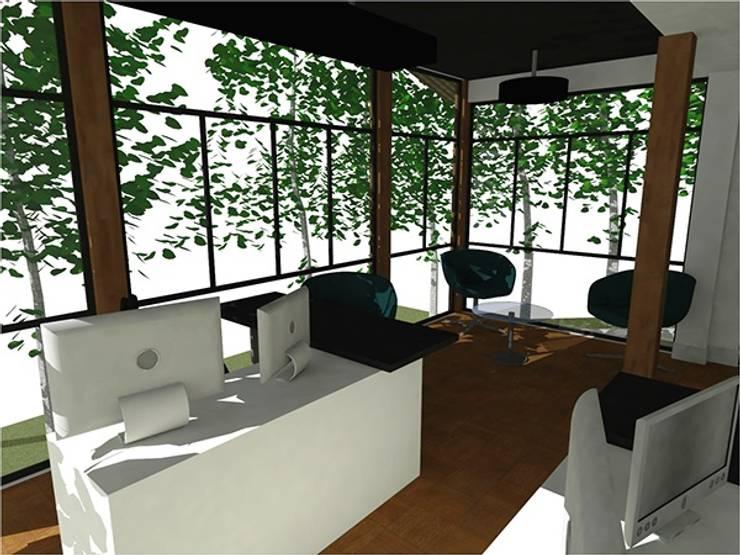 Sala Diretores BB: Espaços comerciais  por Nádia Catarino - Arquitetura e Design de Interiores,