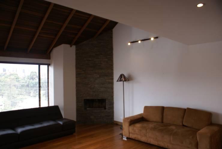 Sala de estar: Estudios y despachos de estilo  por Vowen, Minimalista