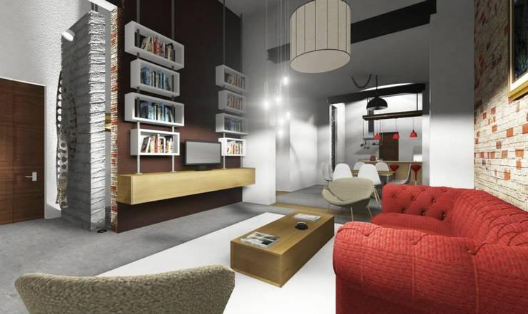 Salones de estilo  por ARQ. María Florencia Fernández