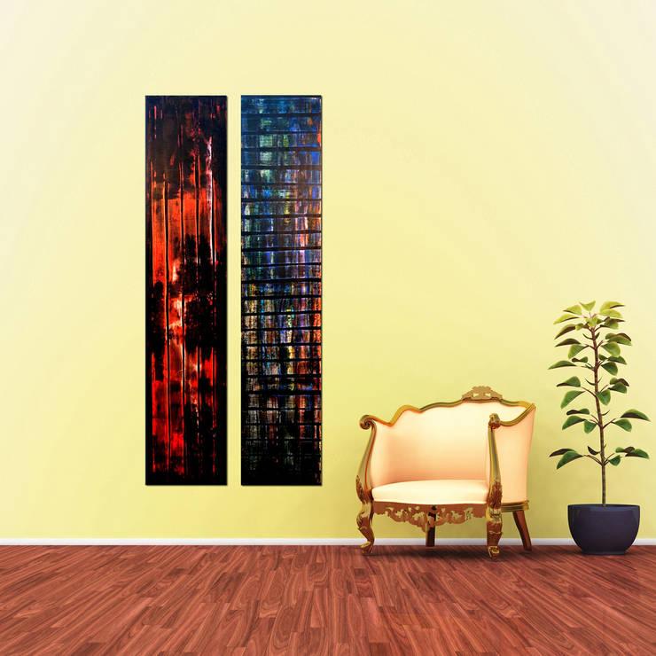 Moderne abstrakte Acrylbilder auf Keilrahmen in Klein- und ...