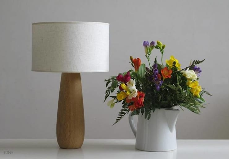 por Angelo Luz + Diseño Rústico Madeira Efeito de madeira