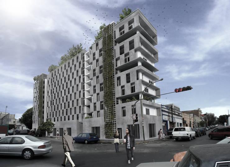 COPLAUR PANAMERICANOS: Casas de estilo  por TAQ arquitectura