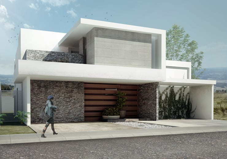 Houses by TAQ arquitectura