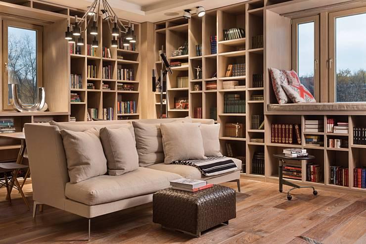 scandinavian Living room by Архитектор Татьяна Стащук