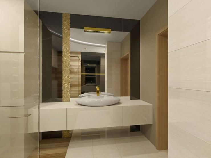 Projekt łazienki: styl , w kategorii Łazienka zaprojektowany przez Bohema Design