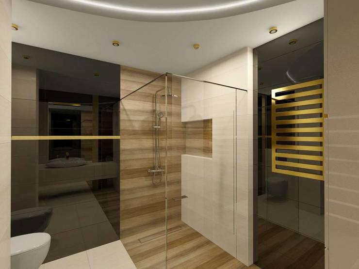 Wnętrze łazienki: styl , w kategorii Łazienka zaprojektowany przez Bohema Design