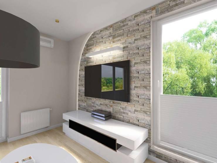 Projekt wnętrza salonu: styl , w kategorii Salon zaprojektowany przez Bohema Design