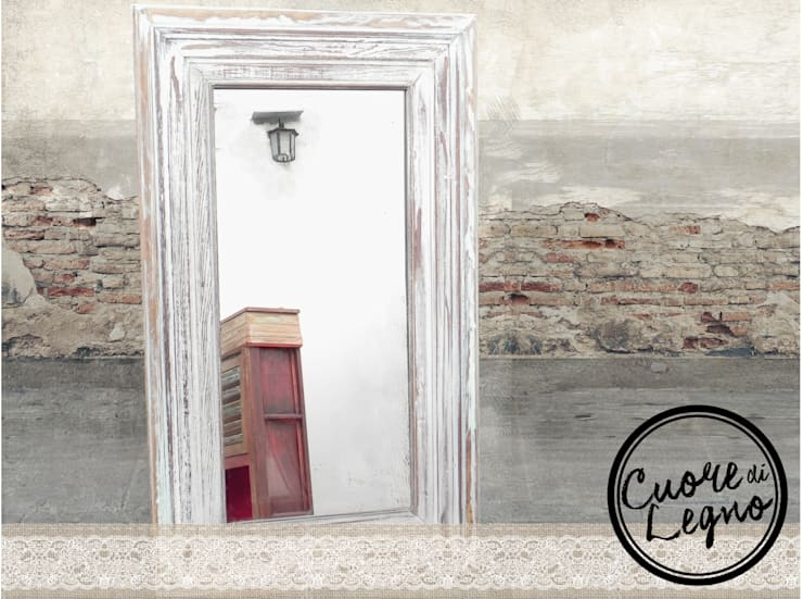 Cuore di Legno: Hogar de estilo  por Cuore di Legno