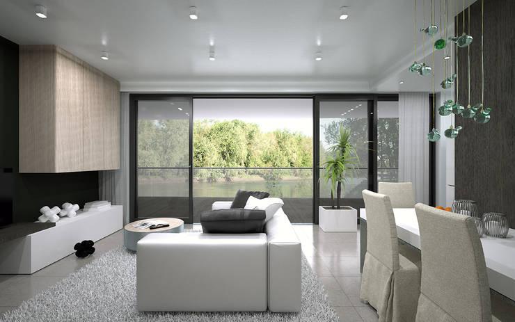 wizualizacja mieszkania – POZNAŃ: styl , w kategorii  zaprojektowany przez renderPLAN