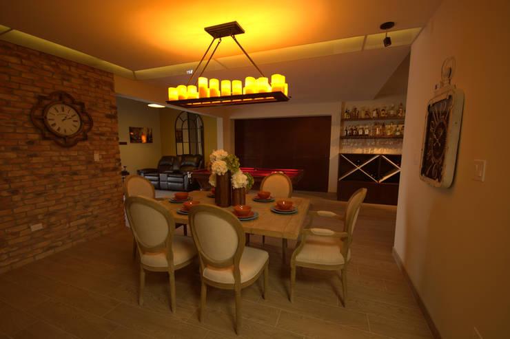 Bilbaoo Residencial : Comedores de estilo ecléctico por Lo Interior