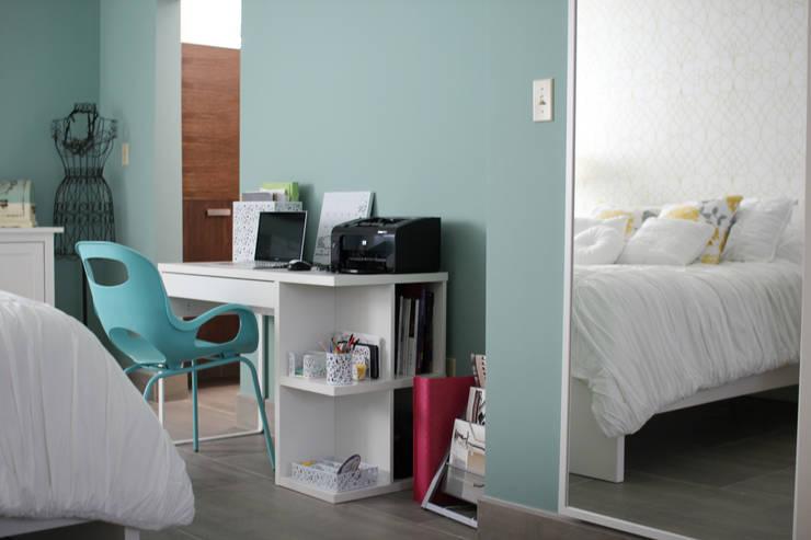 Bilbaoo Residencial : Recámaras de estilo  por Lo Interior