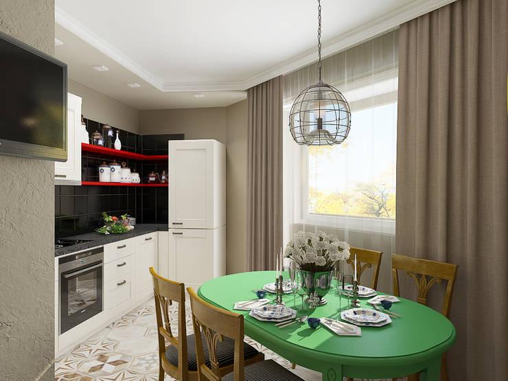 Cocinas de estilo ecléctico por EEDS design