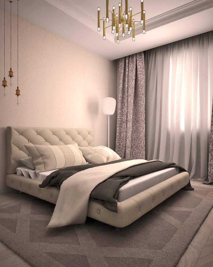Жилое пространство : Спальни в . Автор – BMM