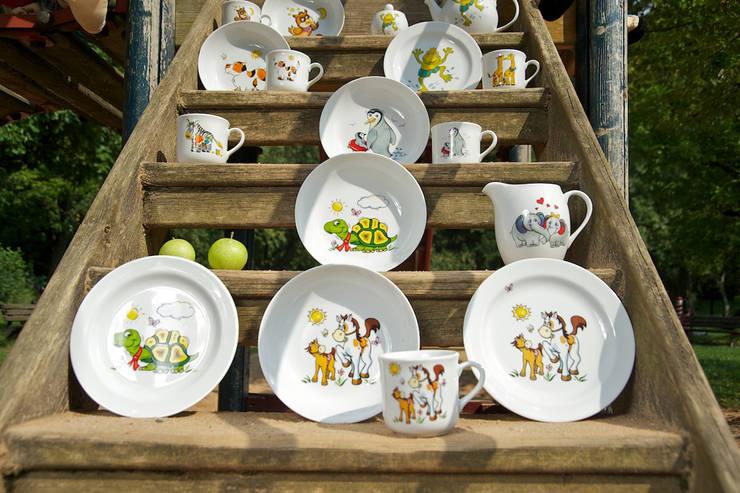 Lustiges Geschirr Fur Kinder By Porzellan Im Hinterhof Homify